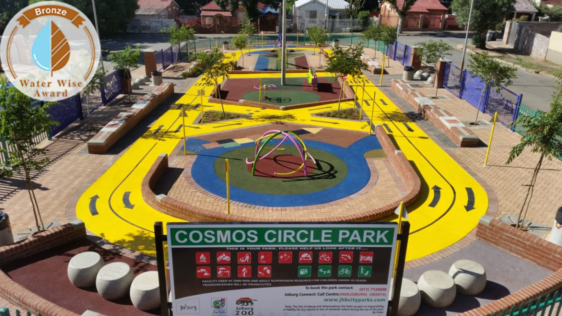 Tswellapele Plants<br/>for<br/>Cosmos Circle Park