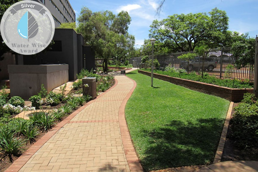 Amaloba Landscaping<br/>for<br/>University of Pretoria:  Jasmyn Ladies Hostel