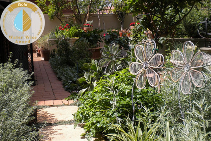 Garden Gate Landscaping<br/>for<br/>House van der Merwe