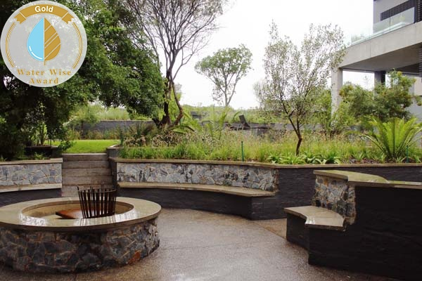 Acton Gardens<br/>for<br/>Private Residence - Waterfall