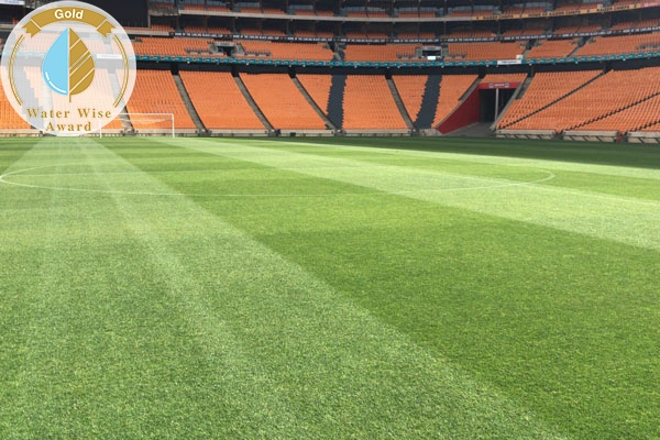 Servest Landscaping and Turf,<br/> a Division of Servest<br/>for<br/>FNB Stadium