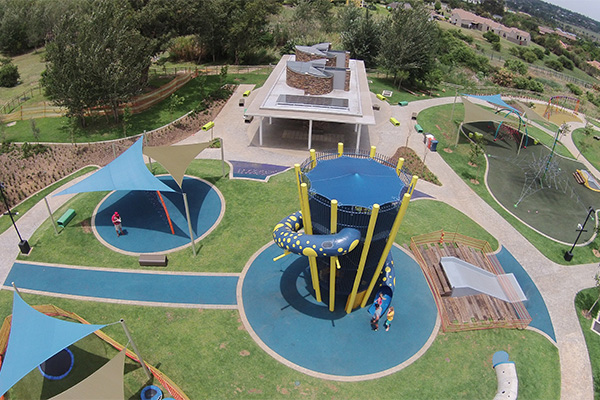 Tswellapele Plants & Microzone Trading <br/>for<br/> American International Schools in Johannesburg - Playground Equipment