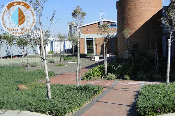 Rothe Plantscapers <br/>for<br/> Sasol Brandspruit living Quarters - Admin Building