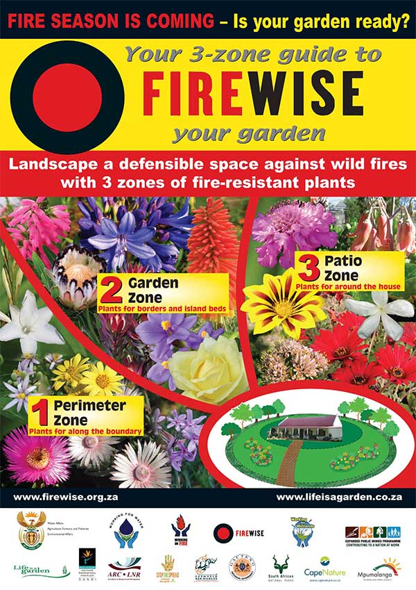 Firescaping Cape Firewise PosterPS