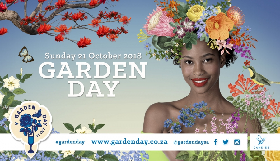 Celebrate Garden Day on Sunday, 21 October, 2018